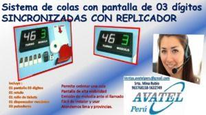 Ordenadores de filas con servicio de sincronizado - Cajamarca - avisos y anuncios clasificados gratis en Perú