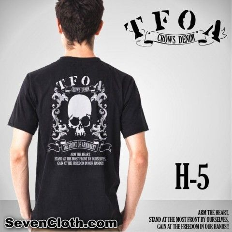 T-Shirt TFOA KODE : H-5  _______________________________________ PRICE : IDR 110.000  Available size: S, M, L, XL, XXL  Melayani peng...