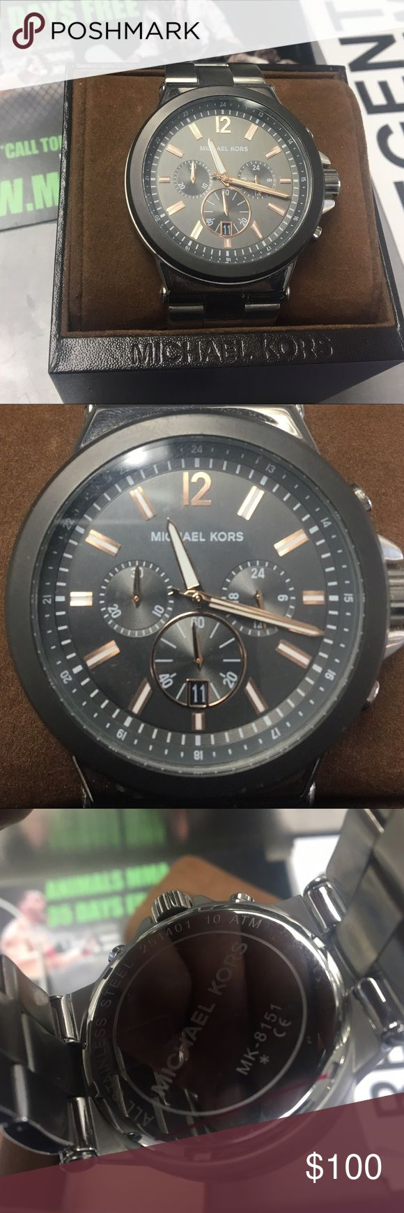Michael kors men's watch Michael kors men's watch MK-8151 may need a battery vey great watch PRICE IS FINAL Michael Kors Accessories Watches