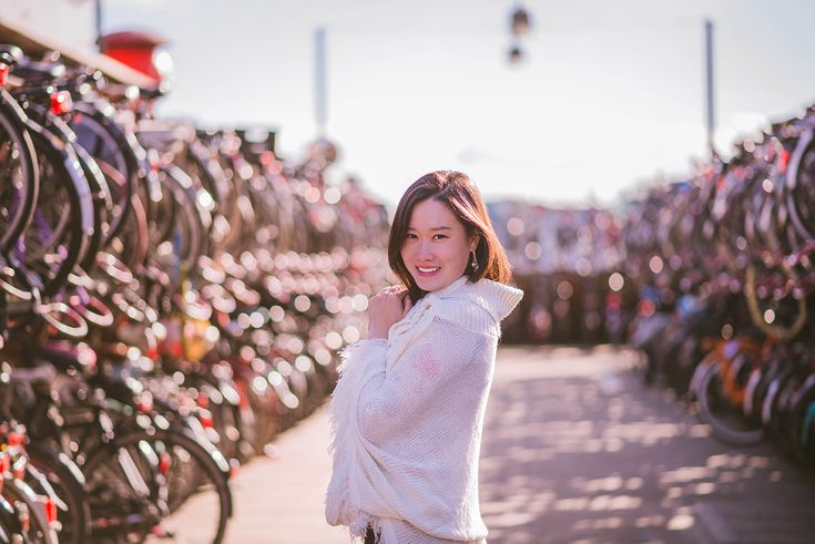 Amsterdam solo traveler Photoshoot