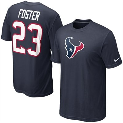 ... NFL Houston Texans Nike Arian Foster Houston Texans 23 Replica Name  Number T-Shirt - Navy Texans 23 Arian Foster Nike Game Jersey Away white 23  Womens ... 249ddc7f5
