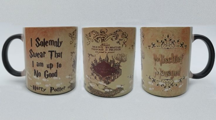hogwarts mugs Marauder's Map mugs heat reveal Cup mug cups mischief managed cups i solemnly swear that i am up to no good