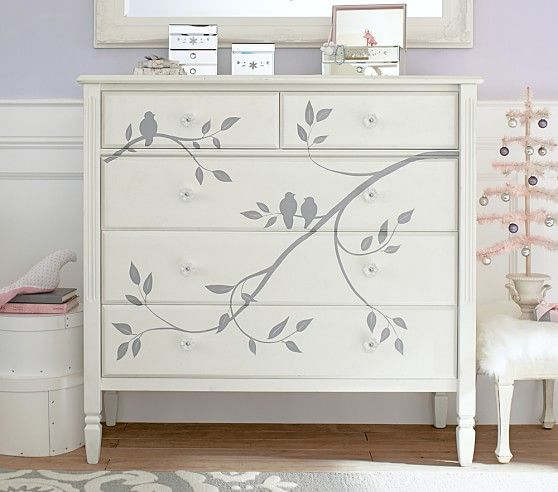 Madeline Painted Dresser | Pottery Barn Kids