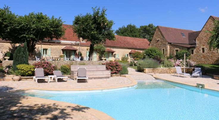 Relais du Silence Hôtel de la Ferme Lamy Meyrals This charming country hotel, a former 17th-century farm was converted into a lovely hotel in 1995. Since then, it has provided guests with comfortable accommodation and a family atmosphere. A heated swimming pool is available on site.