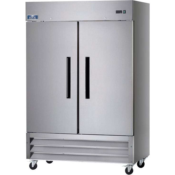 Arctic Air Stainless Steel, Reach In Double Door Refrigerator AR49