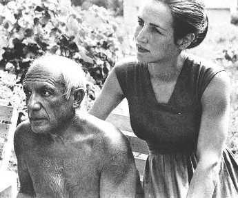 Pablo Picasso (1881-1973) and his lover and muse, French photographer Dora Maar (1907-1997.
