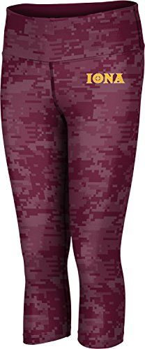ProSphere Womens Iona College College Digital Capri Length Tight Medium >>> Click image to review more details.