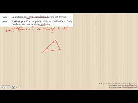 Genomgång av Matematik 5000 Ma 2a   Kapitel 3   Geometri   Geometri och ...