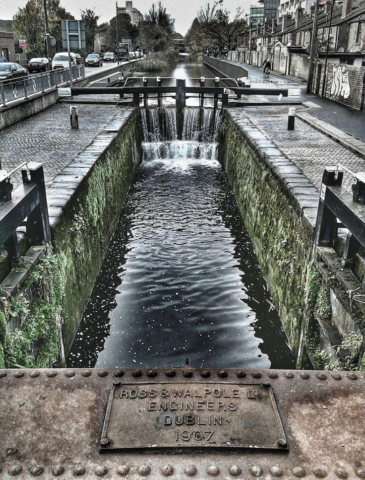 Royal canal, Dublin City, Ireland
