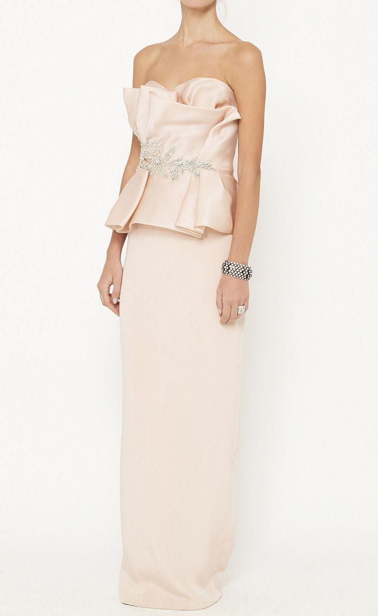 Marchesa Pink Dress   VAUNTE