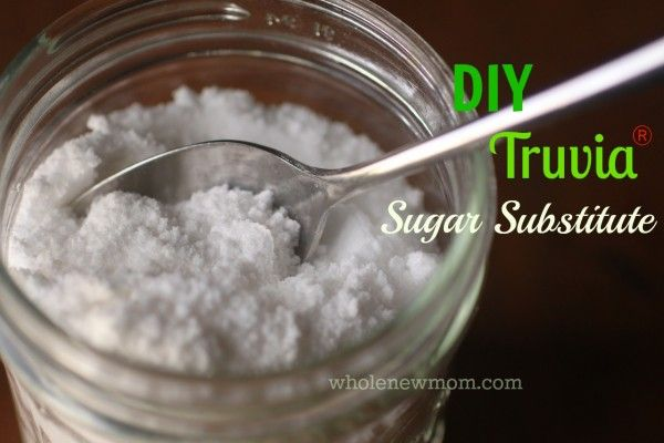 Make Your Own Sugar Substitute - Like Truvia®! No glycemic index--doesn't feed candida---and this recipe makes it super frugal to live the sugar-free life!