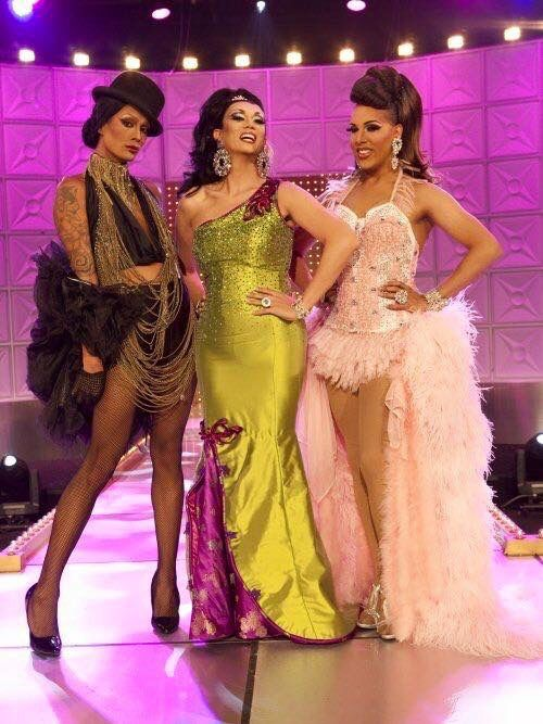 Raja, Manila Luzon, and Alexis Mateo