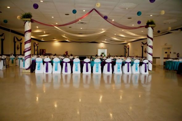 Chocolate And Teal Wedding Reception: 17 Best Images About Plum Wedding On Pinterest