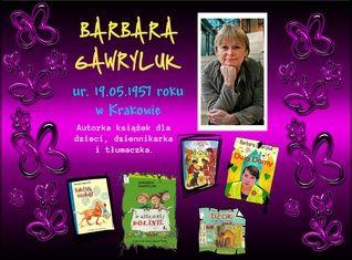 Barbara Gawryluk (ur. 19.05.1957 r. w Krakowie)