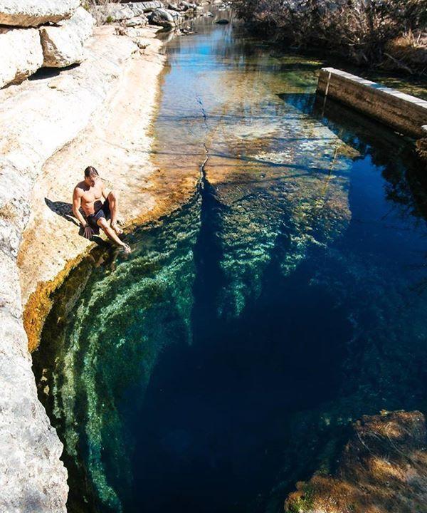 Jacobs Well Texas US | Sasha Juliard Say Yes To Adventure