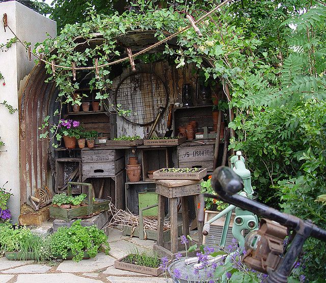 200 Best Images About Garden Shed Ideas On Pinterest