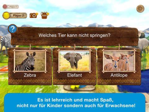 Tolle Spiele-App: Safari Quest