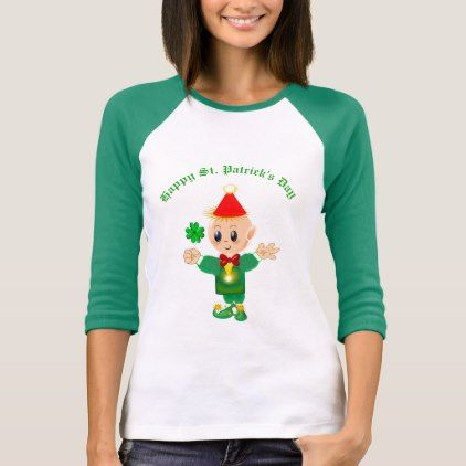 Beautiful Saint Patrick's Day Elf T-Shirt - saint patricks day st patricks holiday ireland irsih special party
