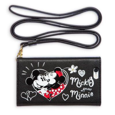 Proteggi con stile il tuo telefono con questo divertente portafoglio che fa anche da custodia per il cellulare. C'è lo spazio per le tessere oltre a una tracolla per indossare il portafoglio come una borsetta!