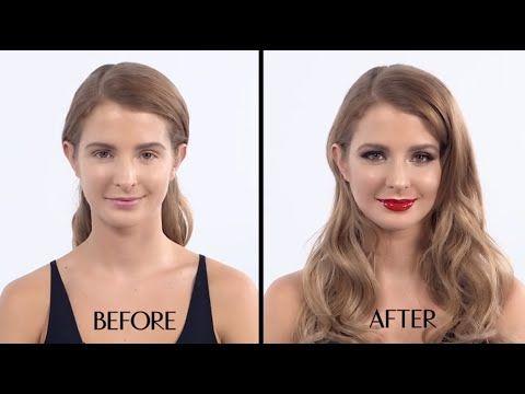 The Bombshell Make-up Tutorial - featuring Millie Mackintosh - Charlotte Tilbury - YouTube