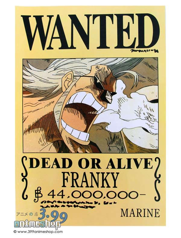 1000 images about one piece bounty on pinterest one - One piece wanted poster ...