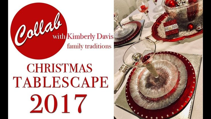 2017 ROYAL RED CHRISTMAS TABLESCAPE | Collab with Kimberly Davis