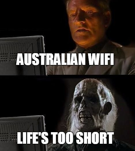 On the internet: | 29 Of The Funniest Memes About Australia