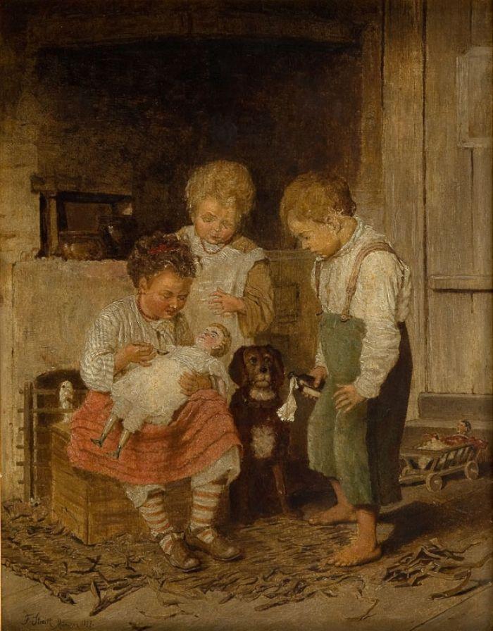 Franciszek Streitt - Lekarz lalek, 1877 r.