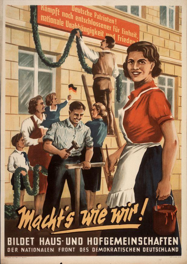 Kollektive Aufbaustimmung, 1953