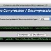 Compression/ Decompression Utility 1.0 Free Download