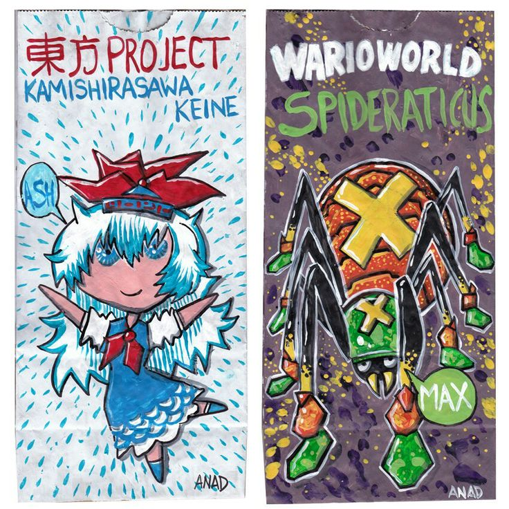 20140416#Sketch #lunchbags for my #sons.#videogames #art #drawing #anad #school #paint #markers #doodles #kids #bag#TouhouProject #KamishirasawaKeine#cartoon #anime #japan #manga #sketch #sketchlunchbag#MarioBros #WarioWorld #Spideraticus#VideoGames #cartoon #MacOS #PC #iOS #Android #app #XBox #Nintendo #WiiU #GameCube  http://en.m.wikipedia.org/wiki/Touhou_Project