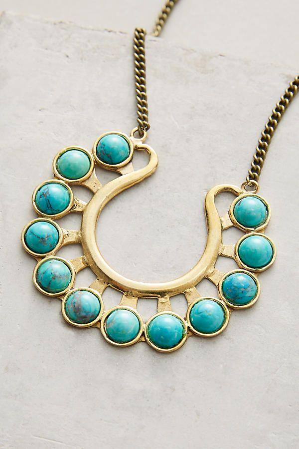 Horseshoe Pendant Necklace