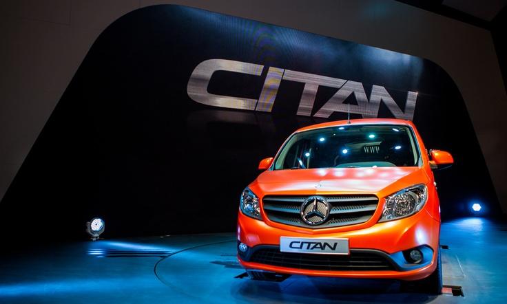 Mercedes-Benz Vans Van Citan IAA Hanover