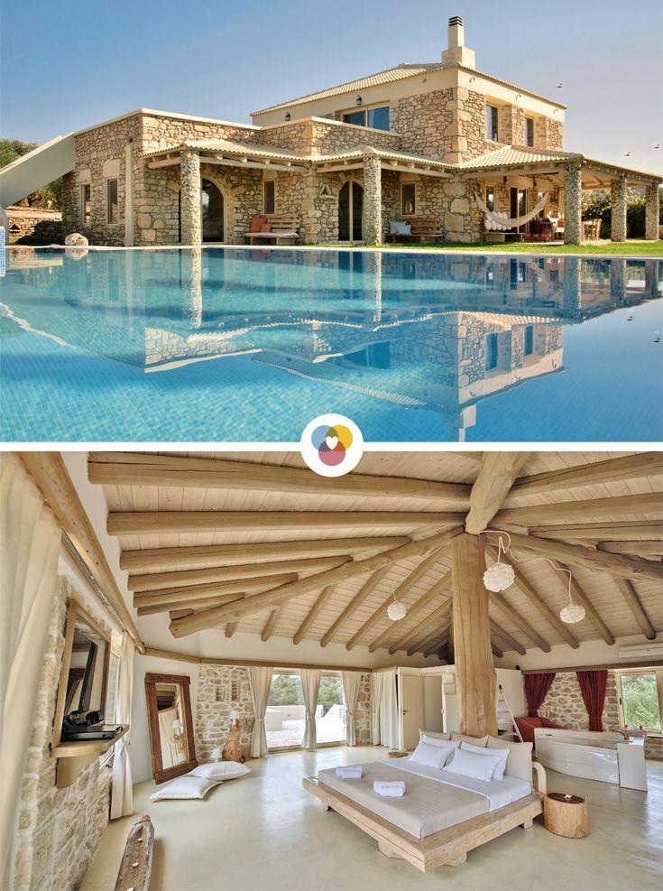 270 Quadratmeter Erholung und Luxus: IN  der Villa Armonia auf Kreta können sich 7 Personen bei einem tollen Luxusurlaub entspannen.