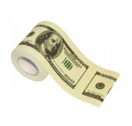 Rolo de Papel Higiênico Dolar | Fábrica9 - Loja de Presentes Criativos e Decoração Criativa