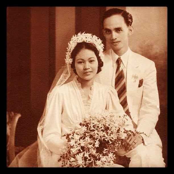 My maternal grandparents on their wedding day. @Melissa Leilani Larson: Leilani Larson, Wedding Day, Melissa Leilani, Maternity Grandparents, Melissa Of Arabian