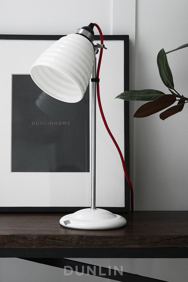 Hector Bibendum Table Light by Original BTC. These would look particularly good either side of your sofa bed on the filing chests