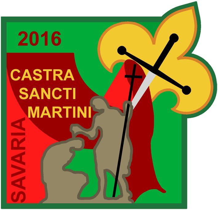Castra Sancti Martini, kerületi cserkész nagytábor, Szombathely. Hic natus est Sanctus Martinus.
