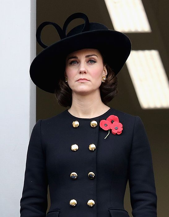 The Duchess of Cambridge unveiled a new look on Sunday, swapping her trademark Chelsea blow-dry for an equally elegant hairstyle