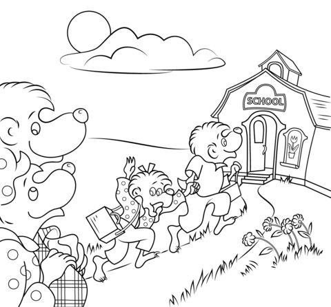 Best 25 School coloring pages