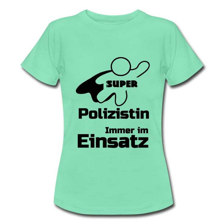 Super Polizistin - tolle Shirts und Geschenke für heldenhafte Polizistinnen. #polizei #polizist #polizisten #helden #super #shirts #kleidung #geschenke #polizistin #polizistinnen