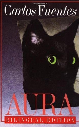 Aura: Bilingual Edition (English and Spanish Edition) by Carlos Fuentes, http://www.amazon.com/dp/0374511713/ref=cm_sw_r_pi_dp_76RSpb03D8WF5