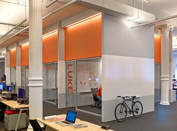 They're Onto Something Big: AppNexus's Playful Flatiron Office by Agatha Habjan   Projects   Interior Design