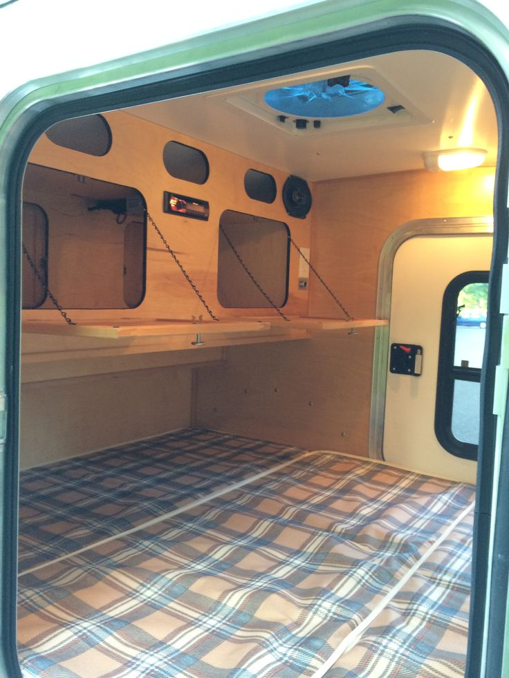 These are photos of the many different options available in your custom teardrop trailer. If you see something you like we can include it in your trailer.