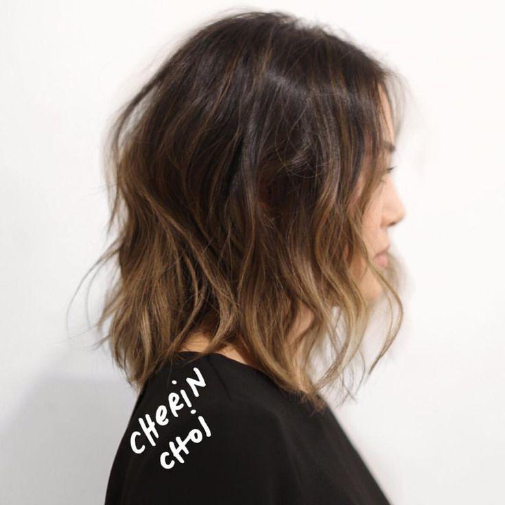 Light ashy brunette Haircolor #hair #haircolor #color #brunette #brunettehair #lowmaintenancehair #lowmainatenancehaircolor #mizzchoi @ramireztransalon #ramireztran #ramireztransalon last minute opening tomorrow 9am  (at Ramirez Tran Salon)