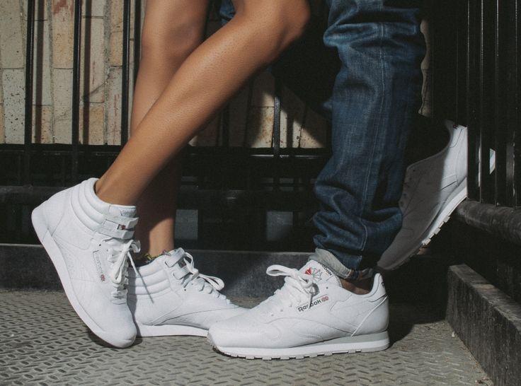 reebok classic high white
