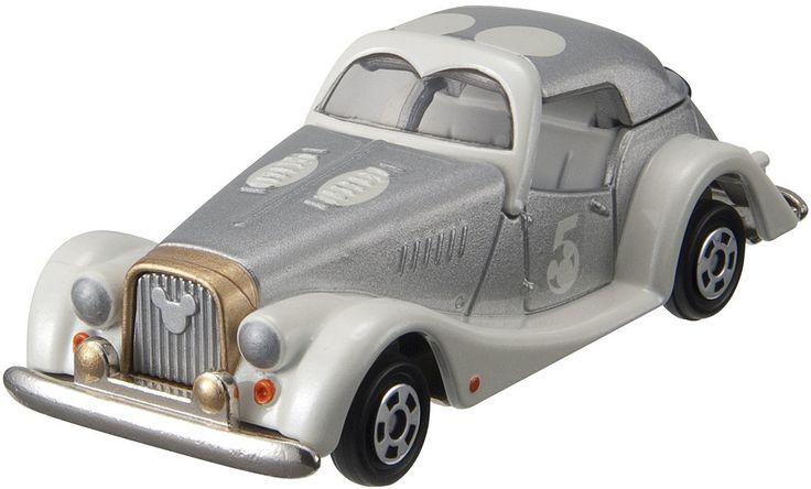 รถเหล็ก Tomica Disney Motors [5th Anniversary] Dream Star White Gold Mickey Mouse สินค้าลิขสิทธิ์แท้ นำเข้าจากประเทศญี่ปุ่น เหมาะสำหรับเด็กอายุ 3 ปีขึ้นไป