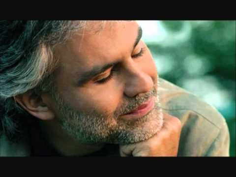 "Andrea Bocelli - Con te partirò - One of the most beautiful love songs ever.  ""With you I will go."""