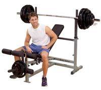 Banc de musculation BODYSOLID PowerCenter Combo Bench