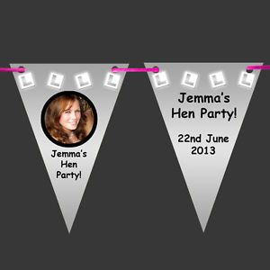 * Personalised L-PLATES Photo BUNTING - Wall Banner- Hen Night Party Decoration | eBay
